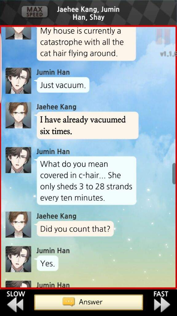 Funny Screenshots Mystic Messenger Amino