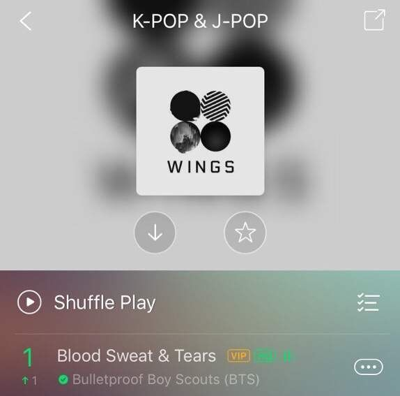 WOWWW BTS NO1 TOP CHART AT JOOX😍😍😍 | ARMY's Amino