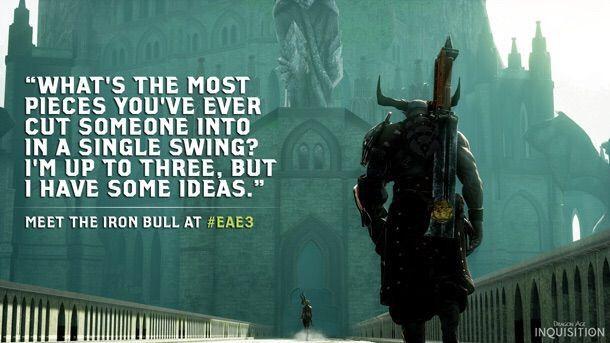 The Iron Bull | Wiki | Dragon Age Amino