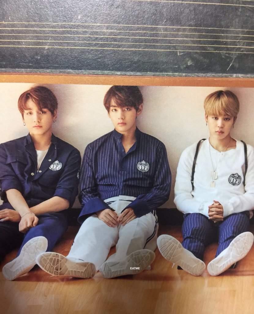 Jimin V Jungkook Wallpaper: [Jimin] 2017 BTS Season's Greetings