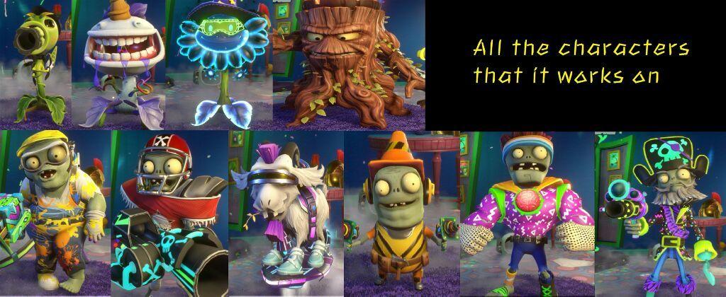Plants Vs Zombies Garden Warfare 2 Party Characters - Garden