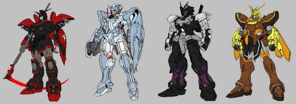 RWBY Gundams | RWBY Amino