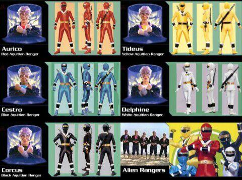 Todas Las Versiones De Los Power Rangers Comics Amino