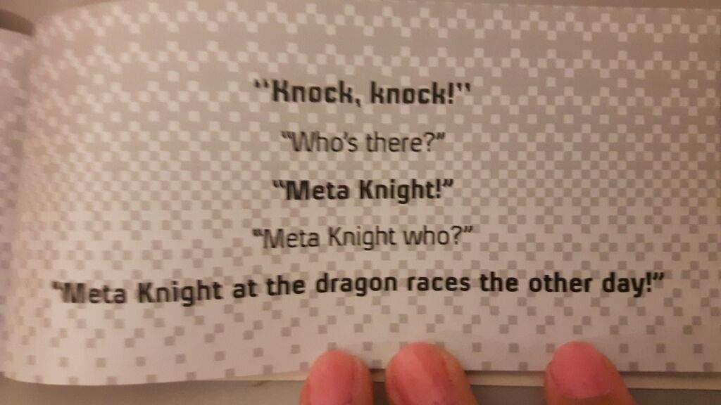 Knock-knock' jokes about Meta | Kirby Amino
