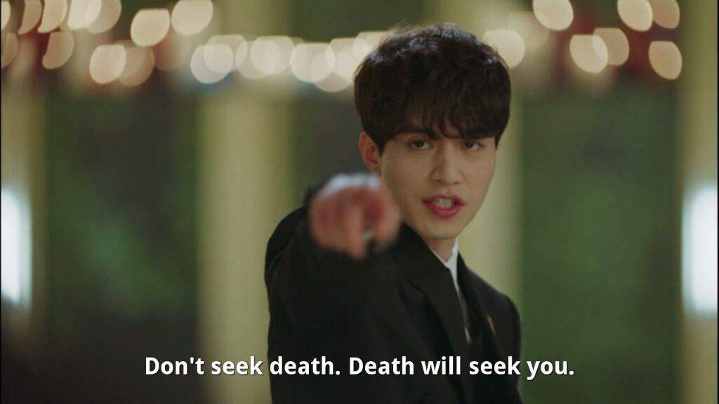 Image result for lee dong wook gif grim reaper love yourself
