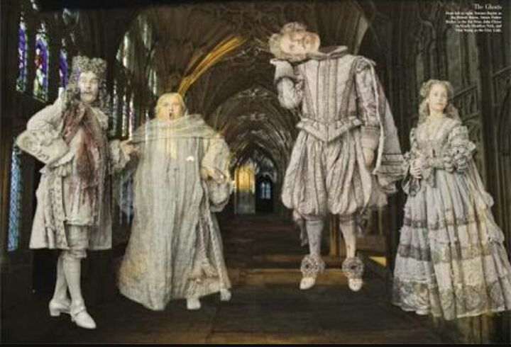 Resultado de imagem para fantasmas harry potter