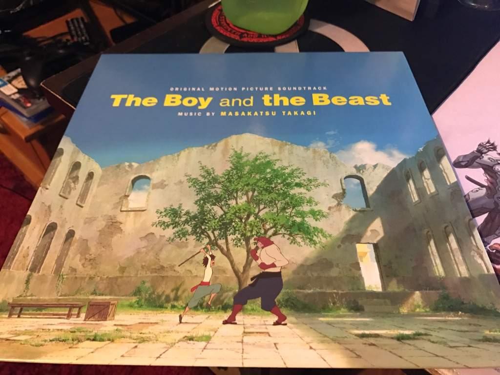 The Boy And The Beast Vinyl Anime Amino