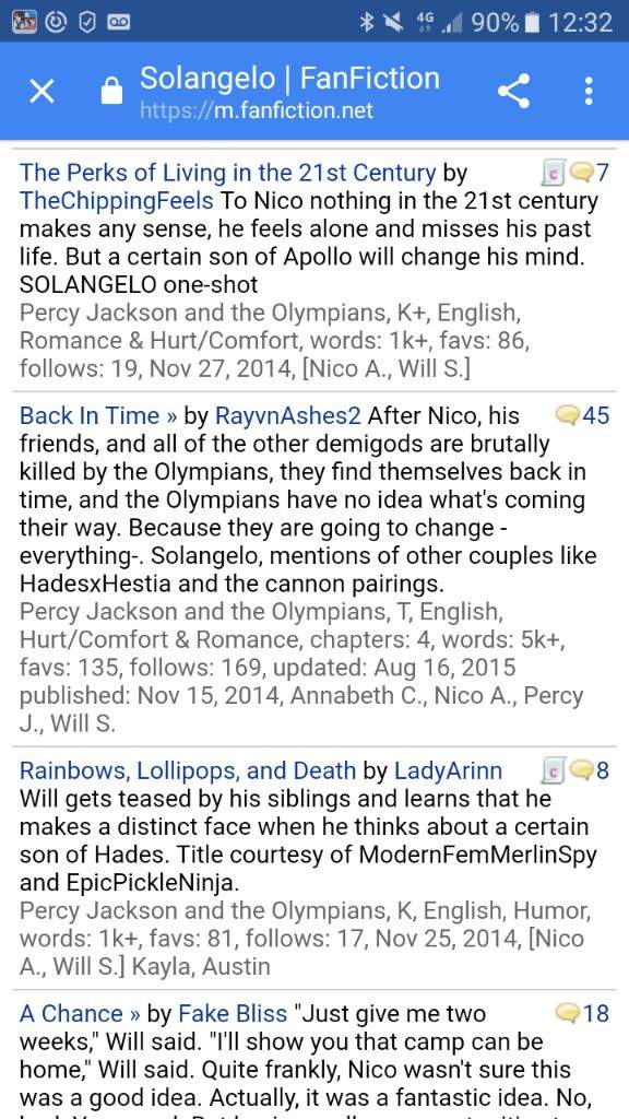 Fanfic back in time | Halfblood Amino