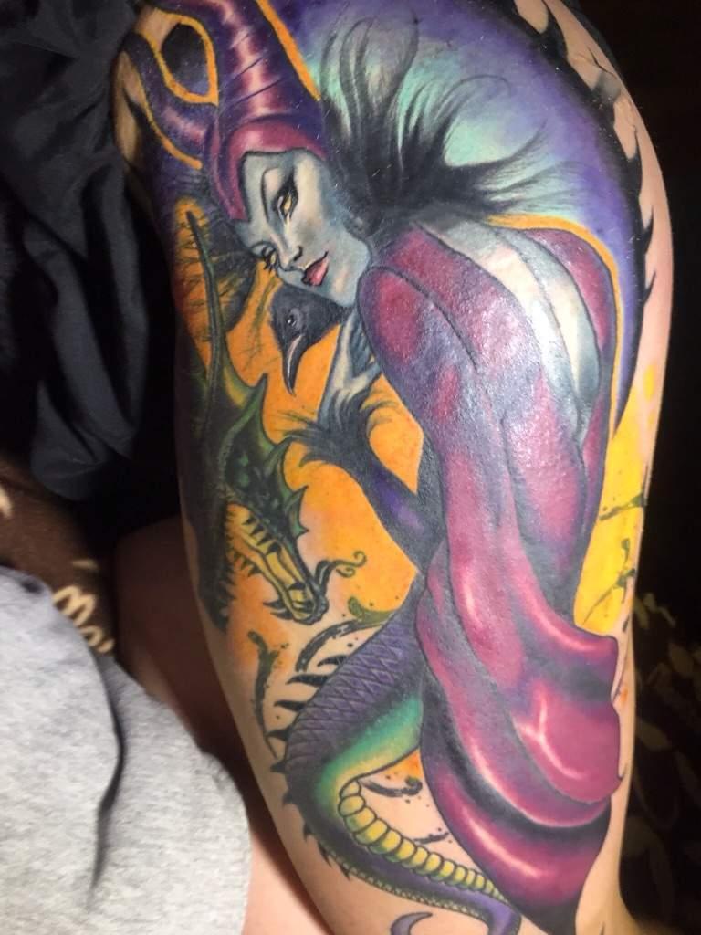 Maleficent Tattoo Tattoo Amino