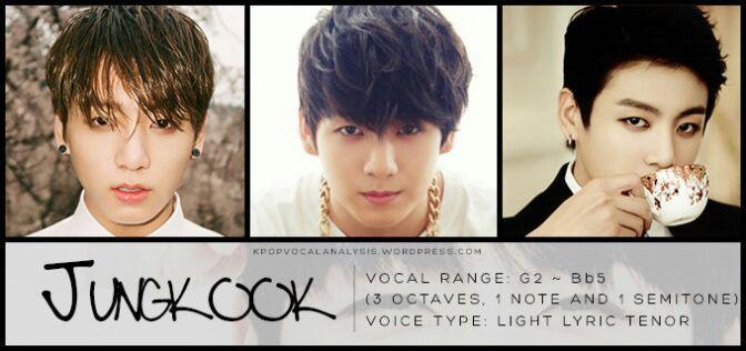 BTS' Jungkook Vocal Analysis:   K-Pop Amino