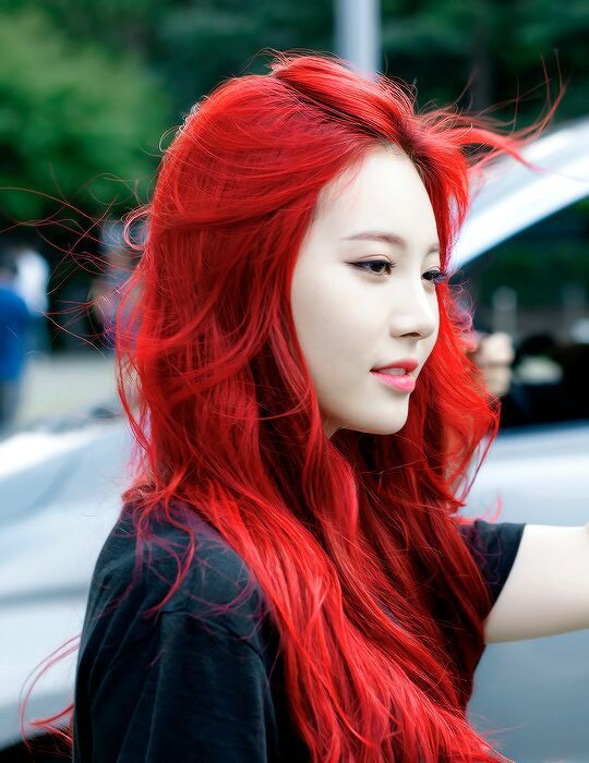Kpop Hair Color Girl