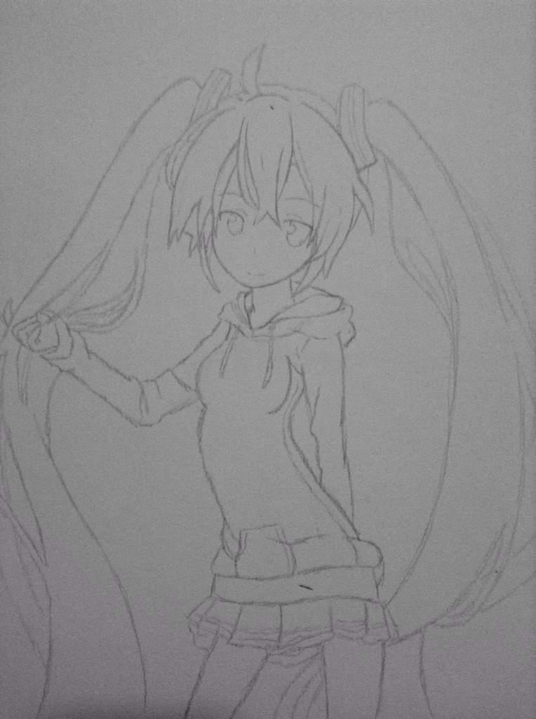 Como Dibujar A Hatsune Miku Anime Amino