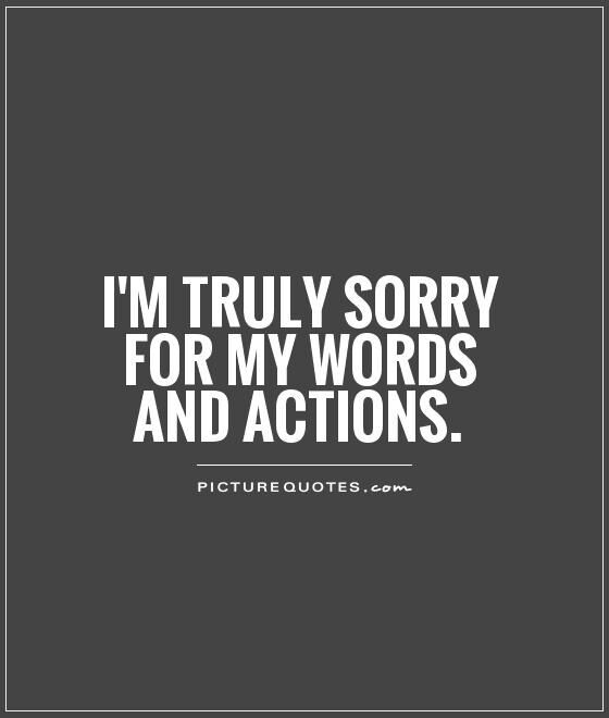I'm Very Sorry For Hurting You And I'm Sorry If I Did Hurt