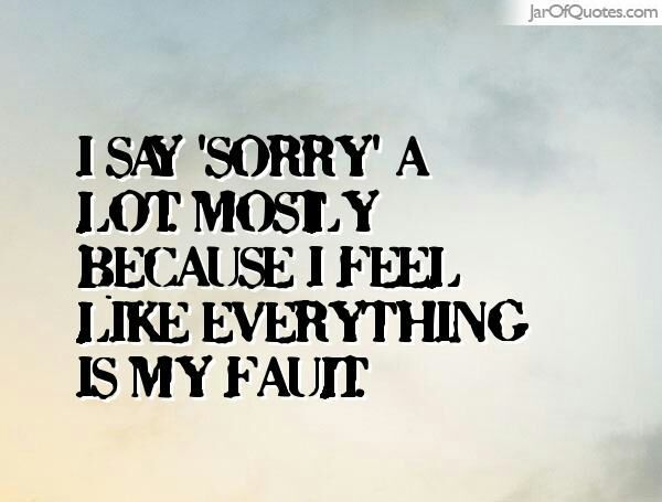 Im Very Sorry For Hurting You And Im Sorry If I Did Hurt You Guys