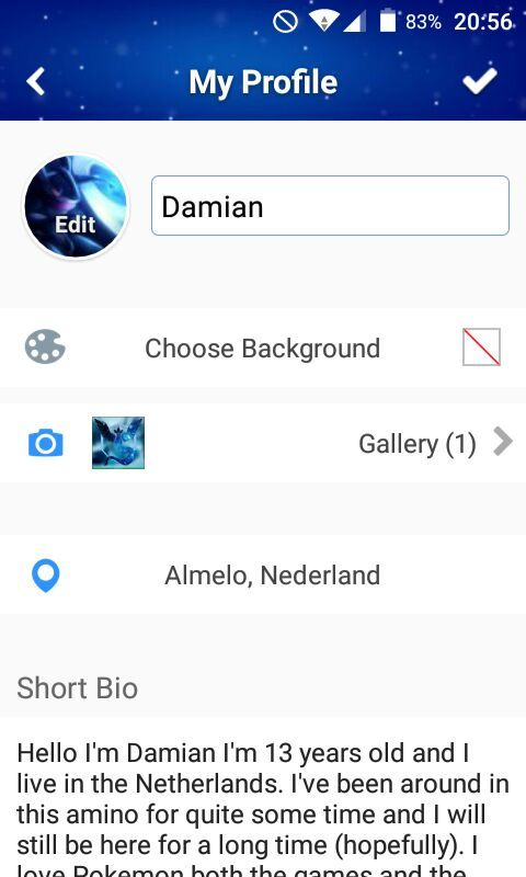 how to create a an amino app
