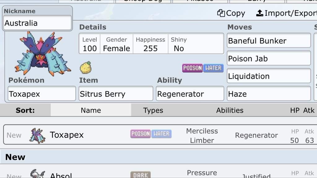 My Gen 7 Ou Showdown Team Pokémon Amino