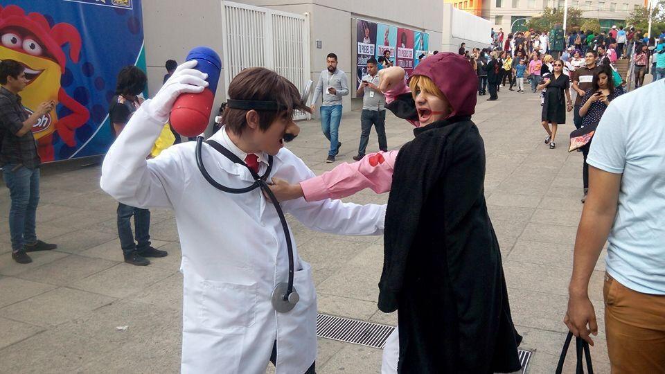 crazy of dr mario cosplay amino
