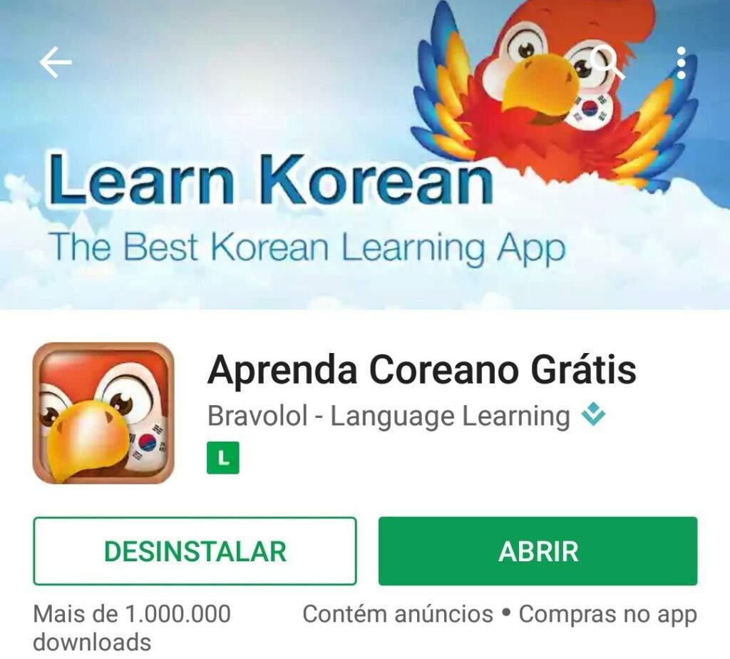 Resultado de imagem para aprenda coreano gratis