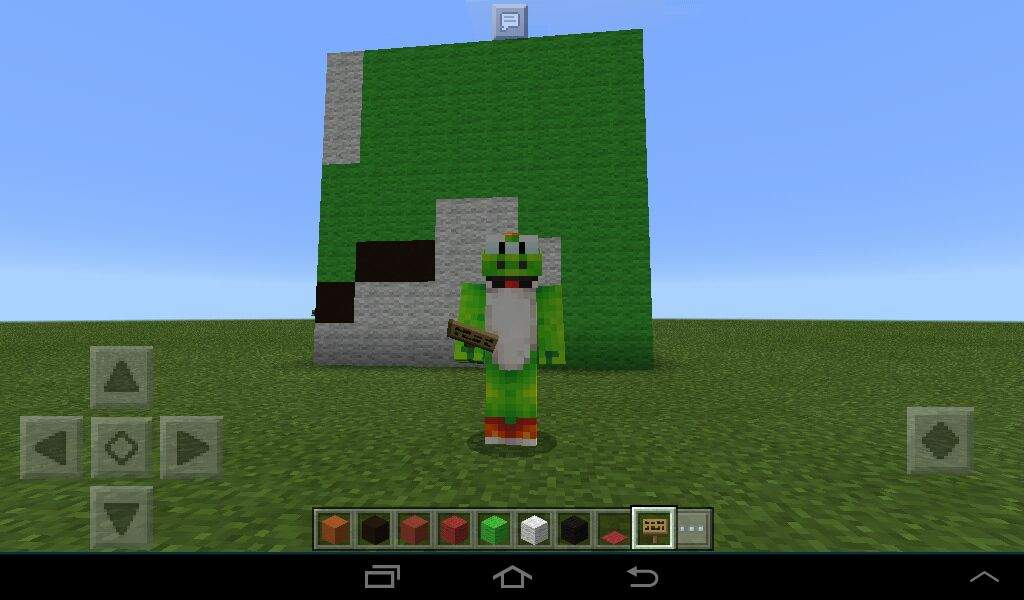 Mi Construcion De La Cabeza De Apixelados Minecraft Amino - Skin para minecraft pe de apixelados
