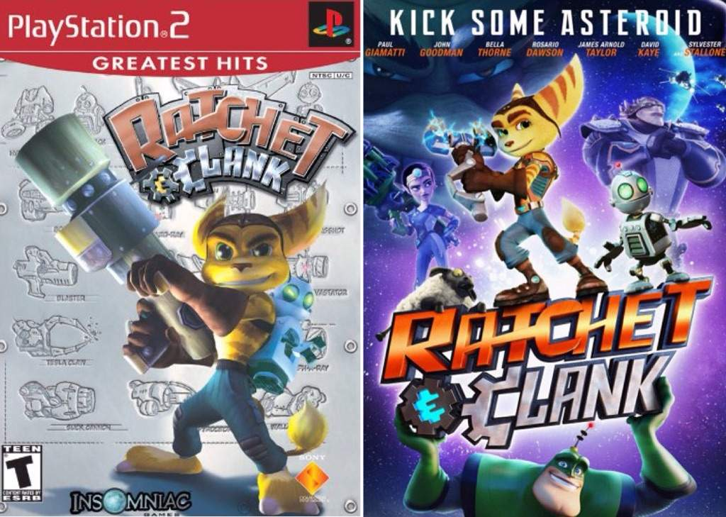 Ratchet Clank Film Vs Original Cartoon Amino
