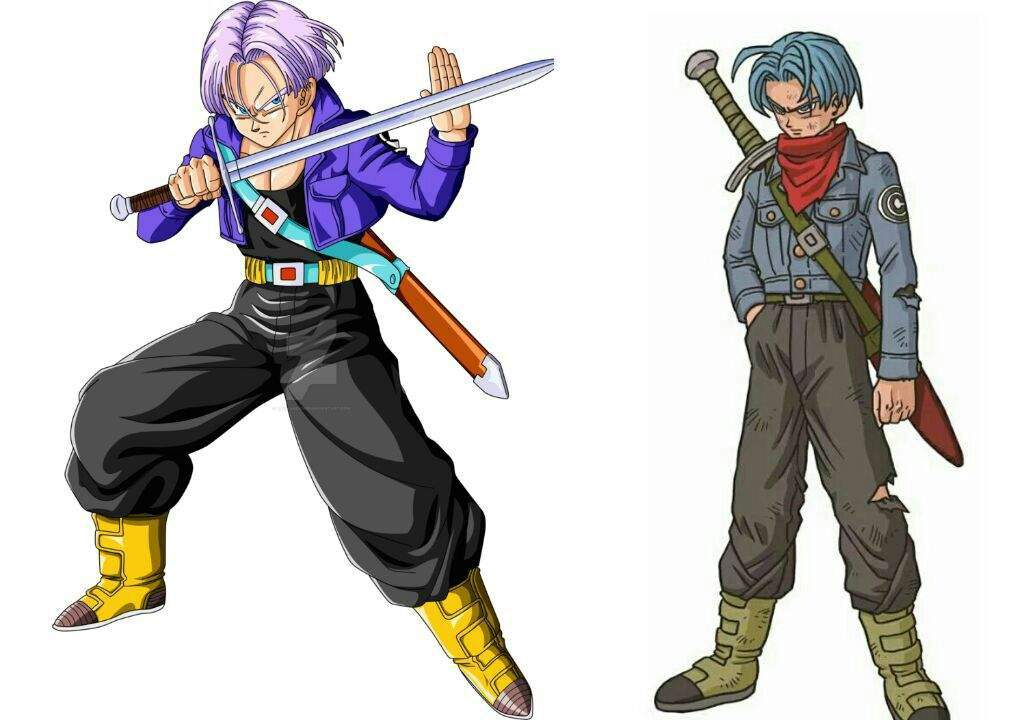 Dragon Ball Super Future Trunks Arc Vs Dragon Ball Z