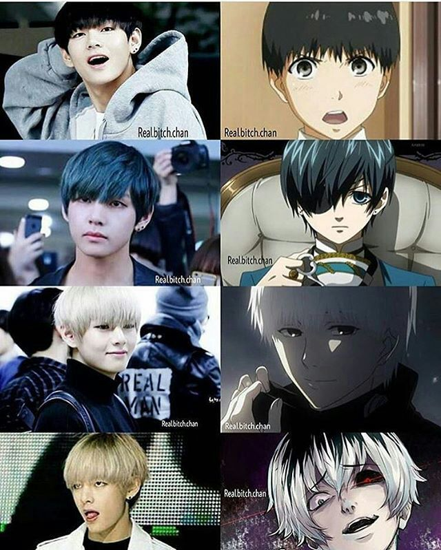 Bts Version Anime