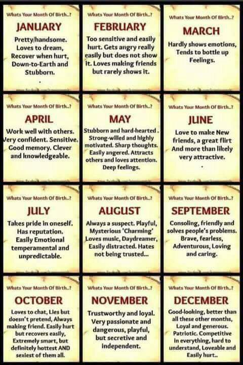 What is your birth month   ?   Anime Amino