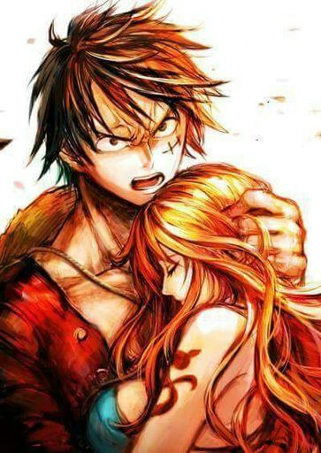 Luffy x nami o luffy x hancock one piece amino - One piece luffy x hancock ...