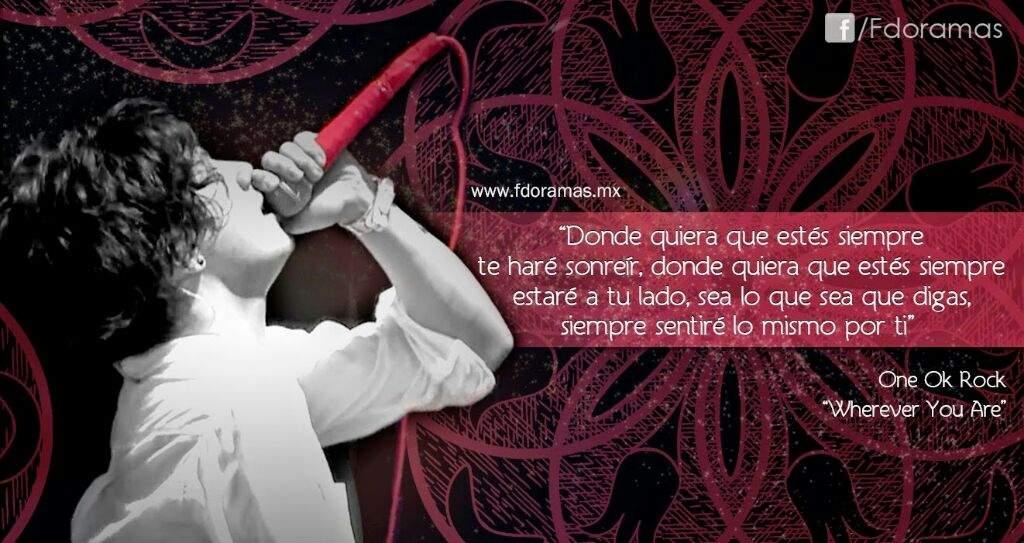 Frases De One Ok Rock One Ok Rock En Español Amino