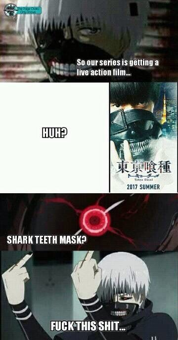 Tokyo Ghoul Live Action Movie Coming Soon