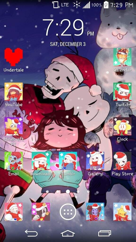 Christmas Backgrounds So Far Undertale Amino