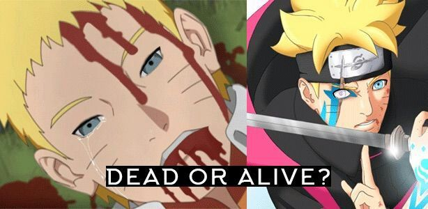 Actually Think Naruto Uzumaki The Main Character In Both And Shippuden Series Is Dead But What Do You Guys Or Alive