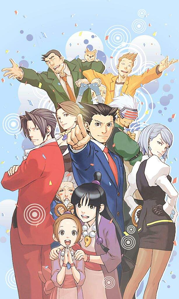 Aa Mobile Wallpapers Ver 2 Phoenix Wright Amino