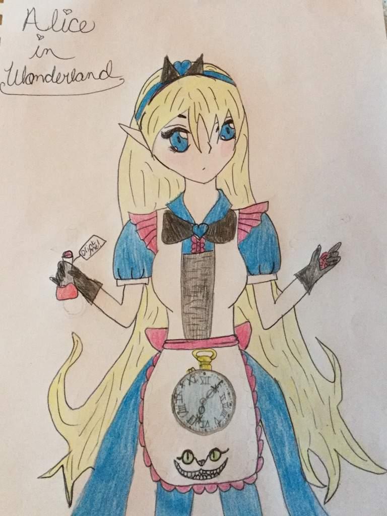 Kawaii Anime Alice In Wonderland Drawing Anime Amino