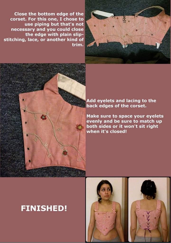 TUTORIAL: Sarah Sanderson's corset | Cosplay Amino