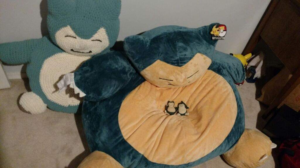 Beanbag Chair I Have Used My 2 Month PomLeeloo Year Old Pit TerrierPiper And The Burger King Snorlax Plush Toy For Size Comparison