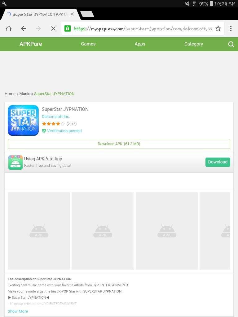 SuperStar JYPNATION APK Download - Free Music GAME for