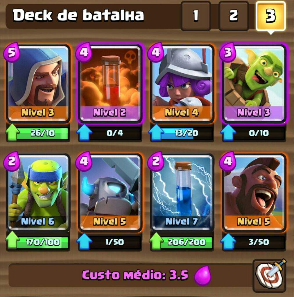 Deck arena 5 clash royale amino oficial amino for Deck pekka arene 6