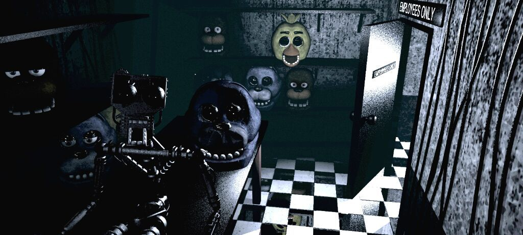 Fnaf 1 theory three endoskeletons five nights at freddys amino so in fnaf 1 you see that endoskeleton with blunt teeth and a pipe connecting its cheek to its jaw now remember those features sciox Choice Image