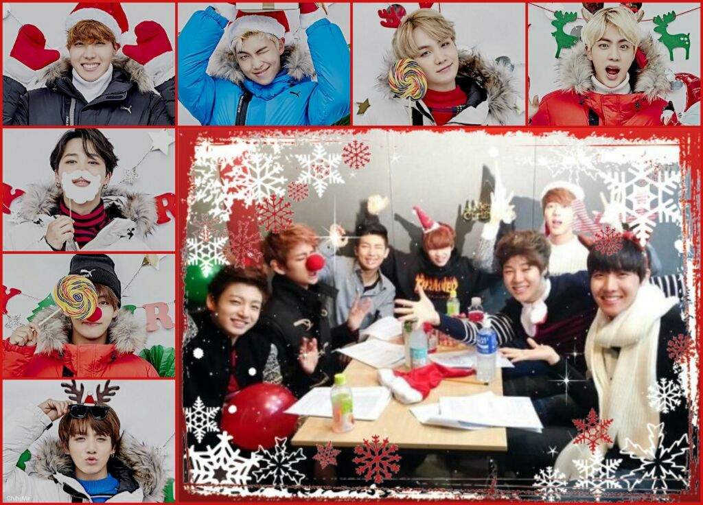 bts christmas aesthetic collage army s amino bts christmas aesthetic collage army