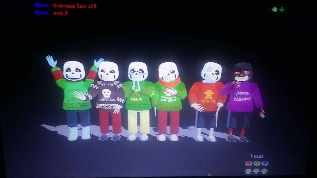 MMS Christmas Party with the AU\'s | Undertale Amino
