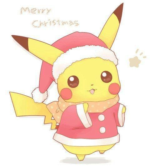 Resultado de imagem para feliz natal kawaii