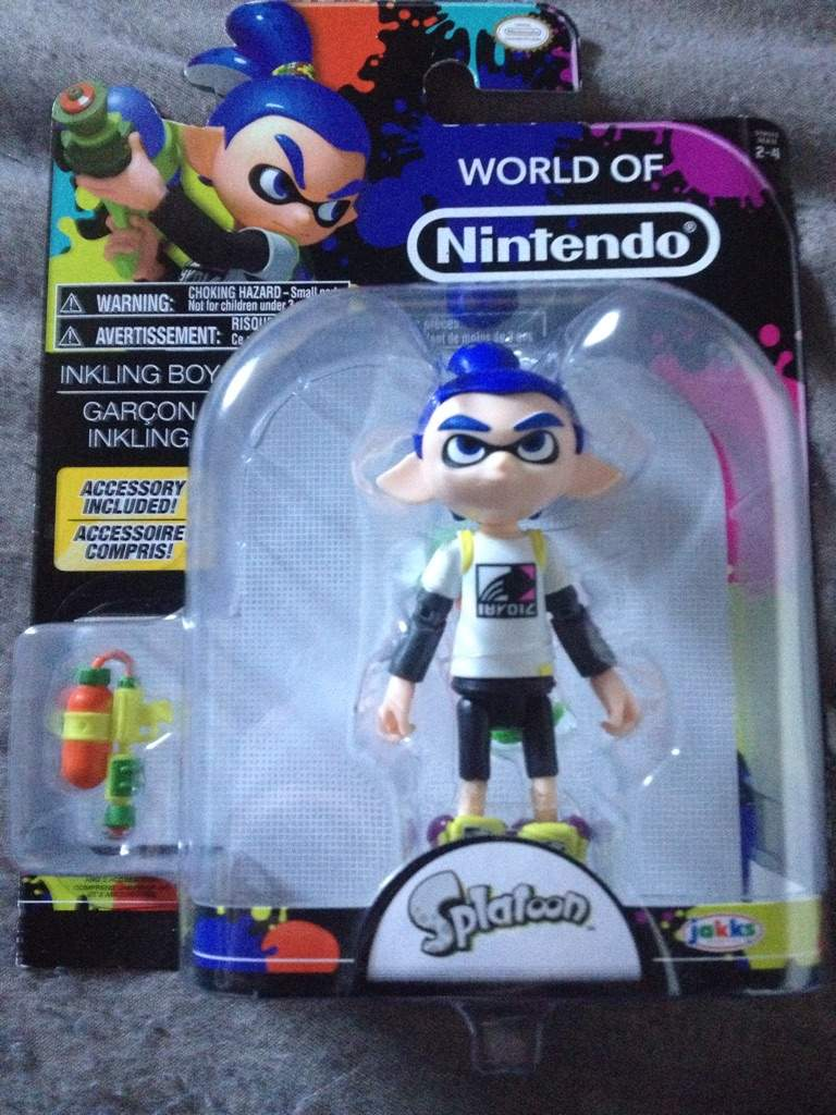 In The Newest Line Of World Nintendo Figures An Inkling Boy Is Set 47