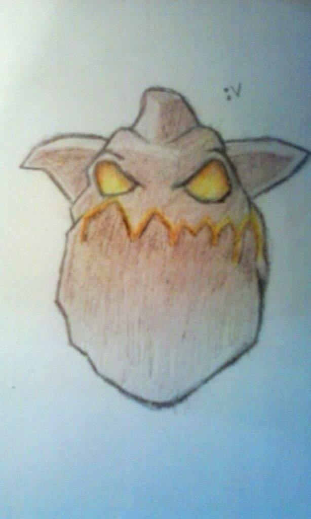 Un Dibujo Del Sabueso De Lava Xdd Clash Royale Amino Amino
