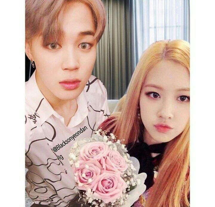Jimin (BTS) y Rosé (BLACKPINK) ? | •K-Pop• Amino