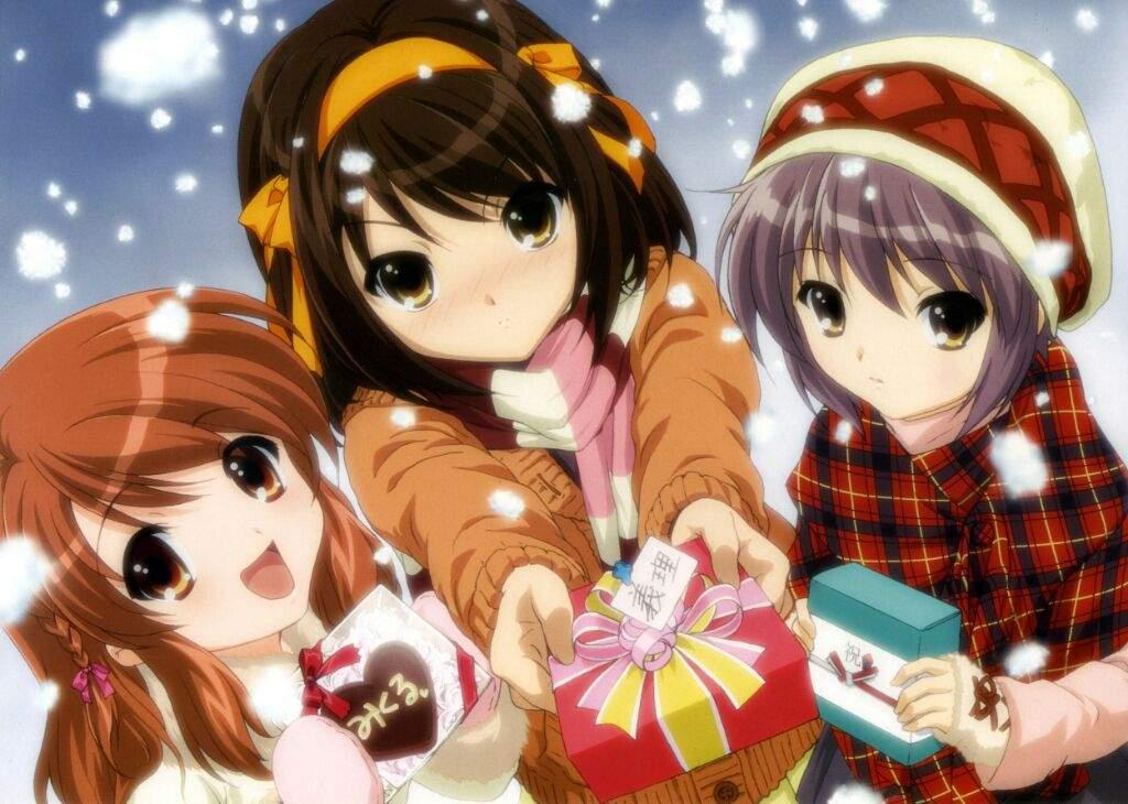 What Your Favourite Christmas Anime Anime Amino