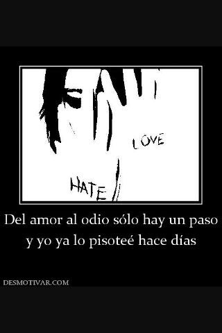 Del Odio Al Amor Hay Solo Un Paso Teoria Undertale
