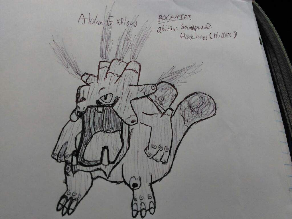 Alolan Exploud Loudred And Whismur