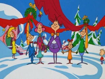 CAMovieWeek How the Grinch Stole Christmas cartoon vs The