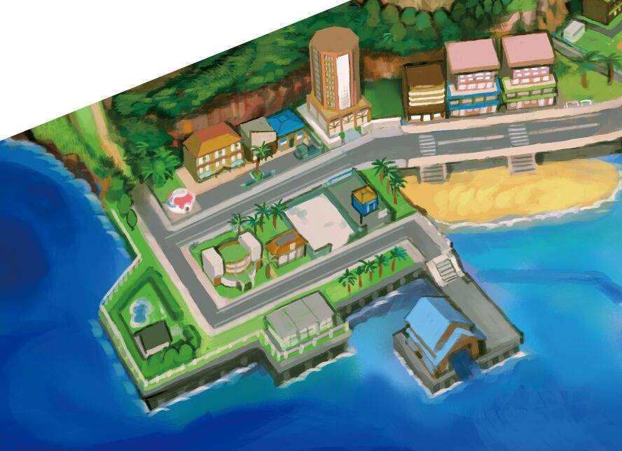 pokemon sun how to open map